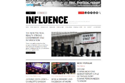 CIPR Influence screenshot